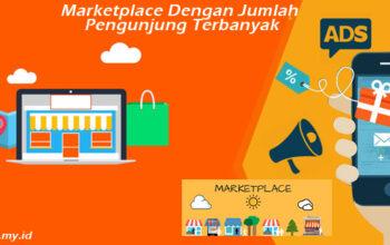 Marketplace Dengan Jumlah Pengunjung Terbanyak